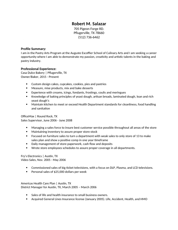 Poached Resume Jobs For The Restaurant And Hospitality Industry Chef Resume Resume Job Board