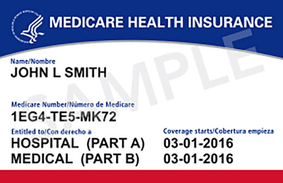 New medicare id cards designed to prevent fraud medical