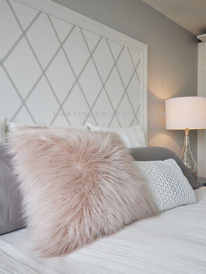 papier peint pour la t te de lit mes r alisations t te. Black Bedroom Furniture Sets. Home Design Ideas