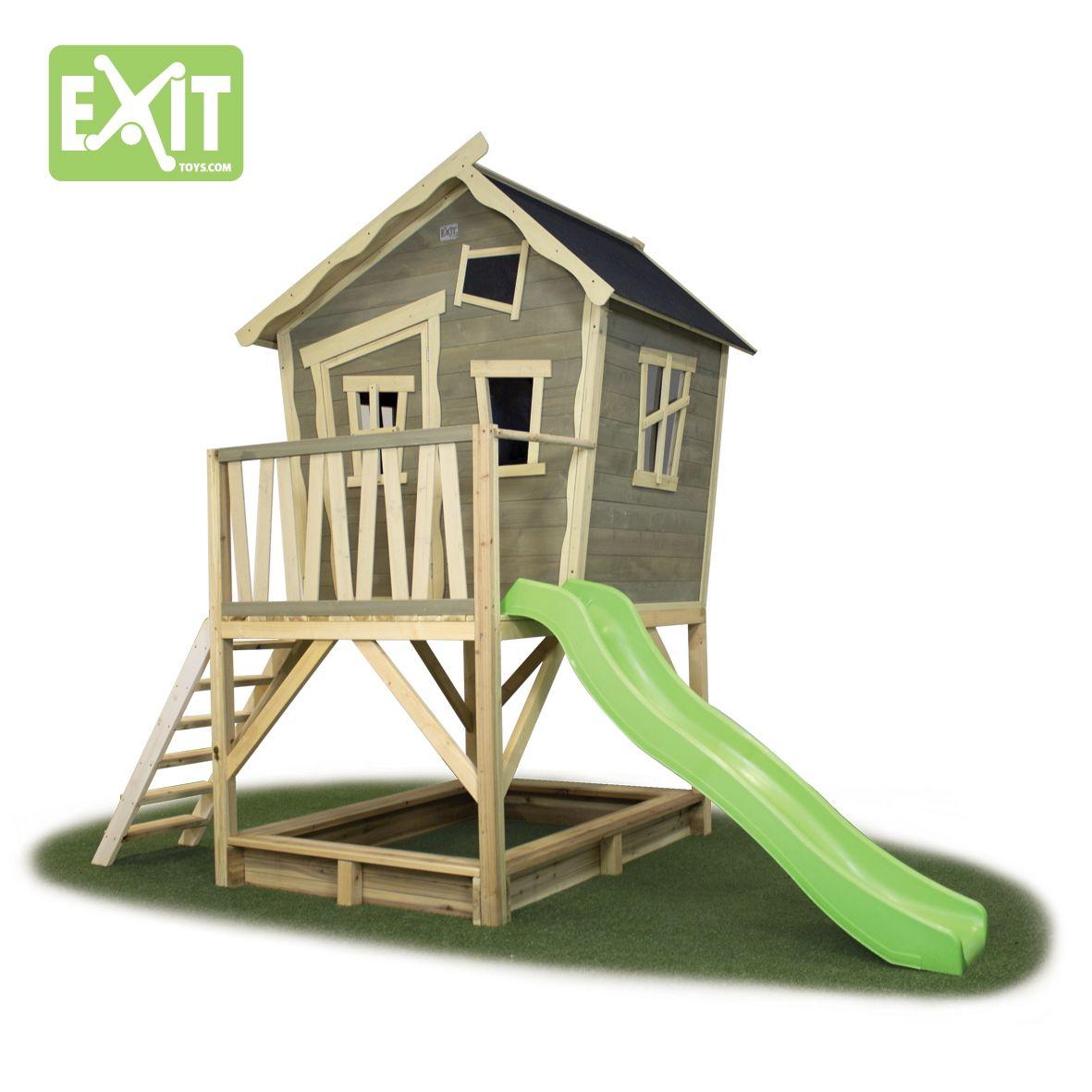 kinder-spielhaus exit crooky 500 kinderspielhaus holz-stelzenhaus, Moderne