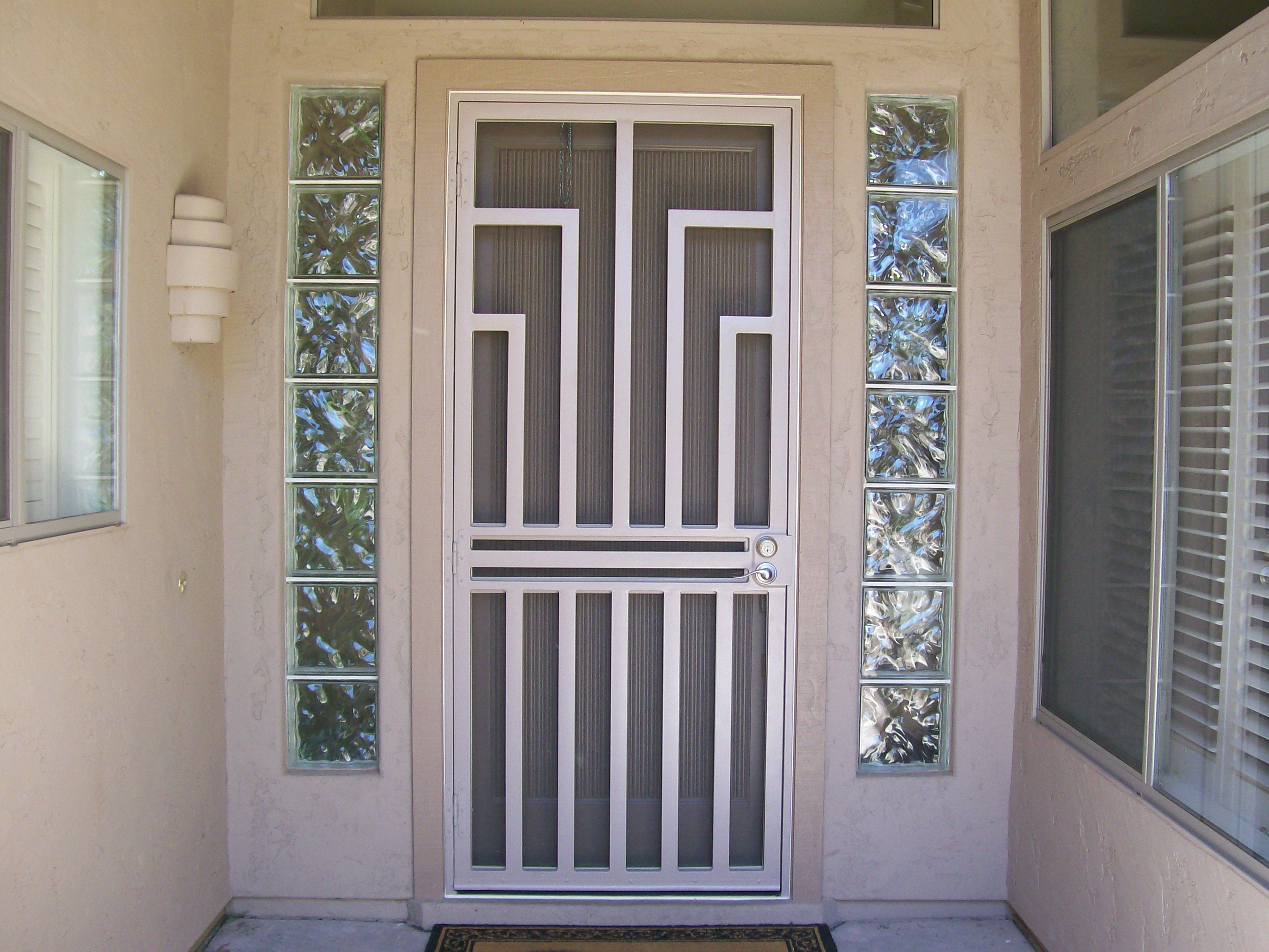 Aluminum Security Screen Door security screen door. #dcsindustries #securityscreendoor