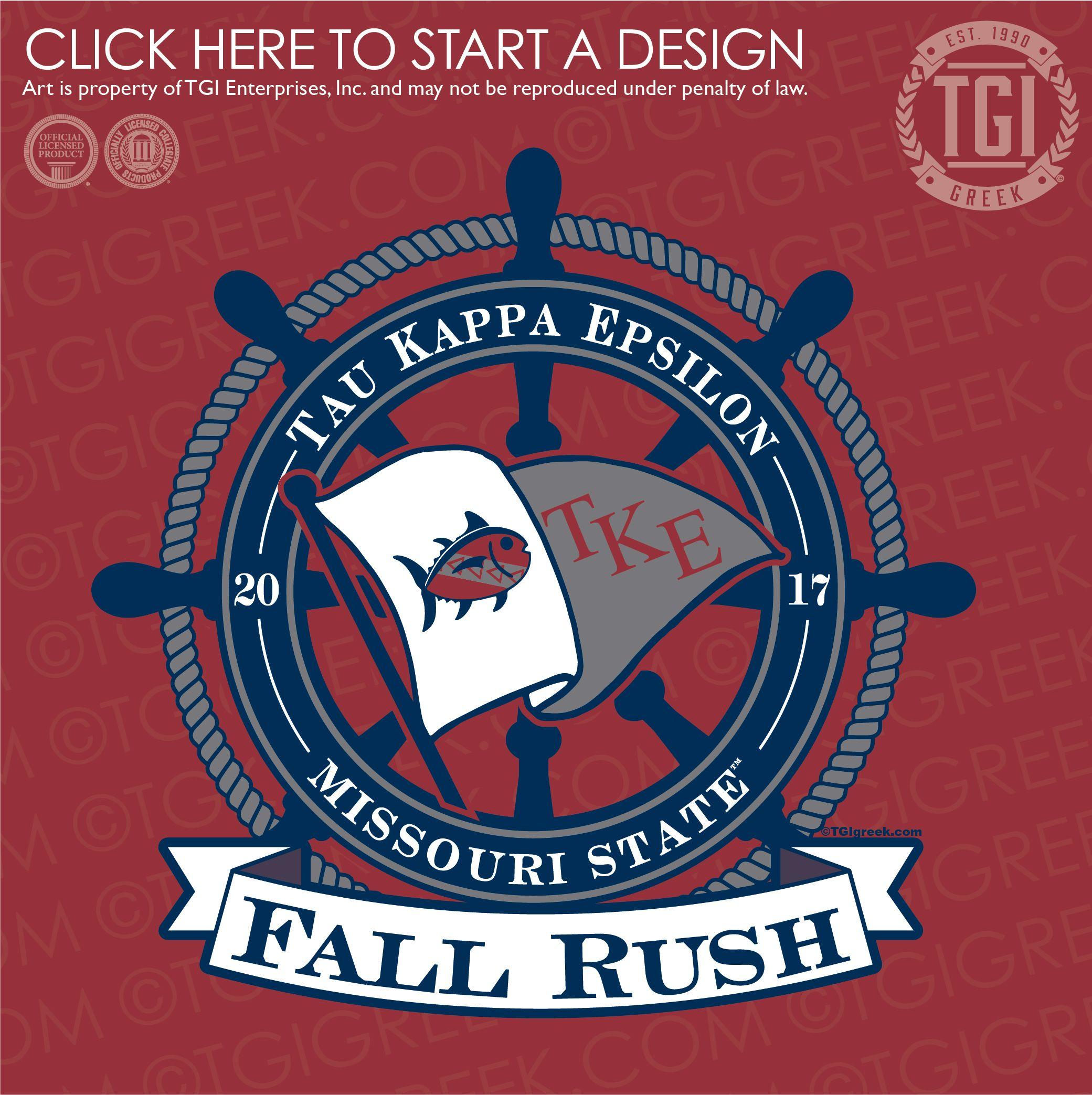 Tau Kappa Epsilon Tke Teke Fall Rush Fraternity Rush Rush