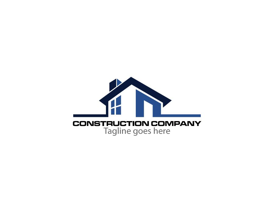 Construction company logo design ideas for House construction companies