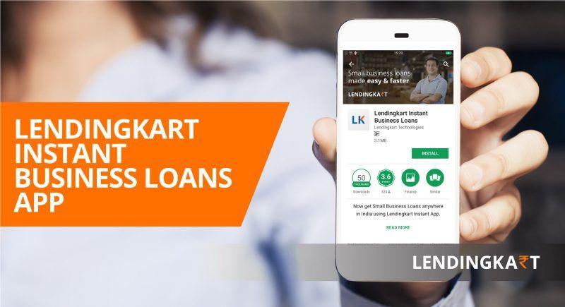 Instant business loan with lendingkart app download now
