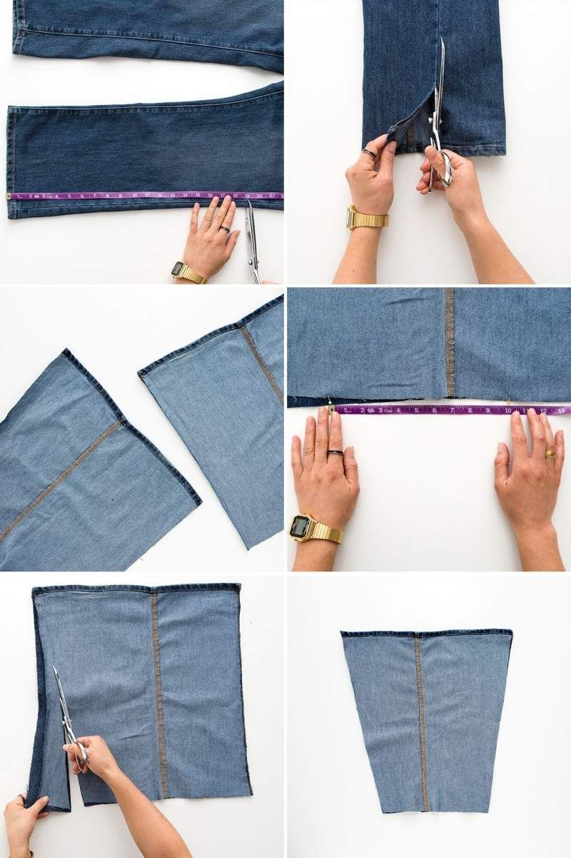 anleitung zum jeans tasche n hen aus alt mach neu. Black Bedroom Furniture Sets. Home Design Ideas
