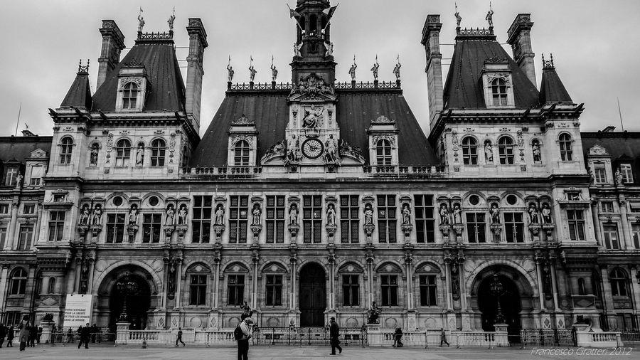 Hotel De Ville Paris France By Francesco Gratteri Via 500px