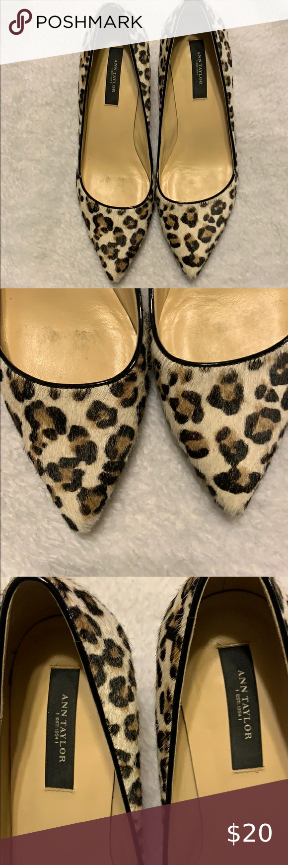 Ann Taylor Animal Print Kitten Heel Pumps 6 1 2 In 2020 Kitten Heel Pumps Shoes Women Heels Pumps Heels