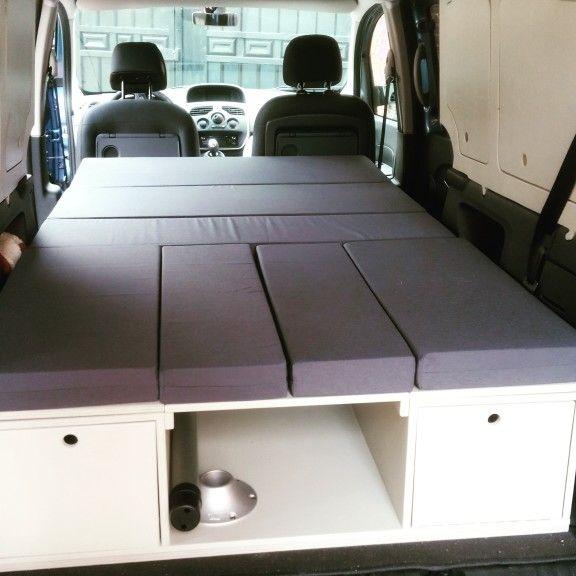 Modulo Camper Renault Grand Kangoo Camper Truck Bed Camper Small Camper Vans