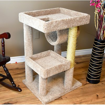 New Cat Condos 38 Premier Cat Condo Color Beige Wood Cat Cat Condo Cat Perch