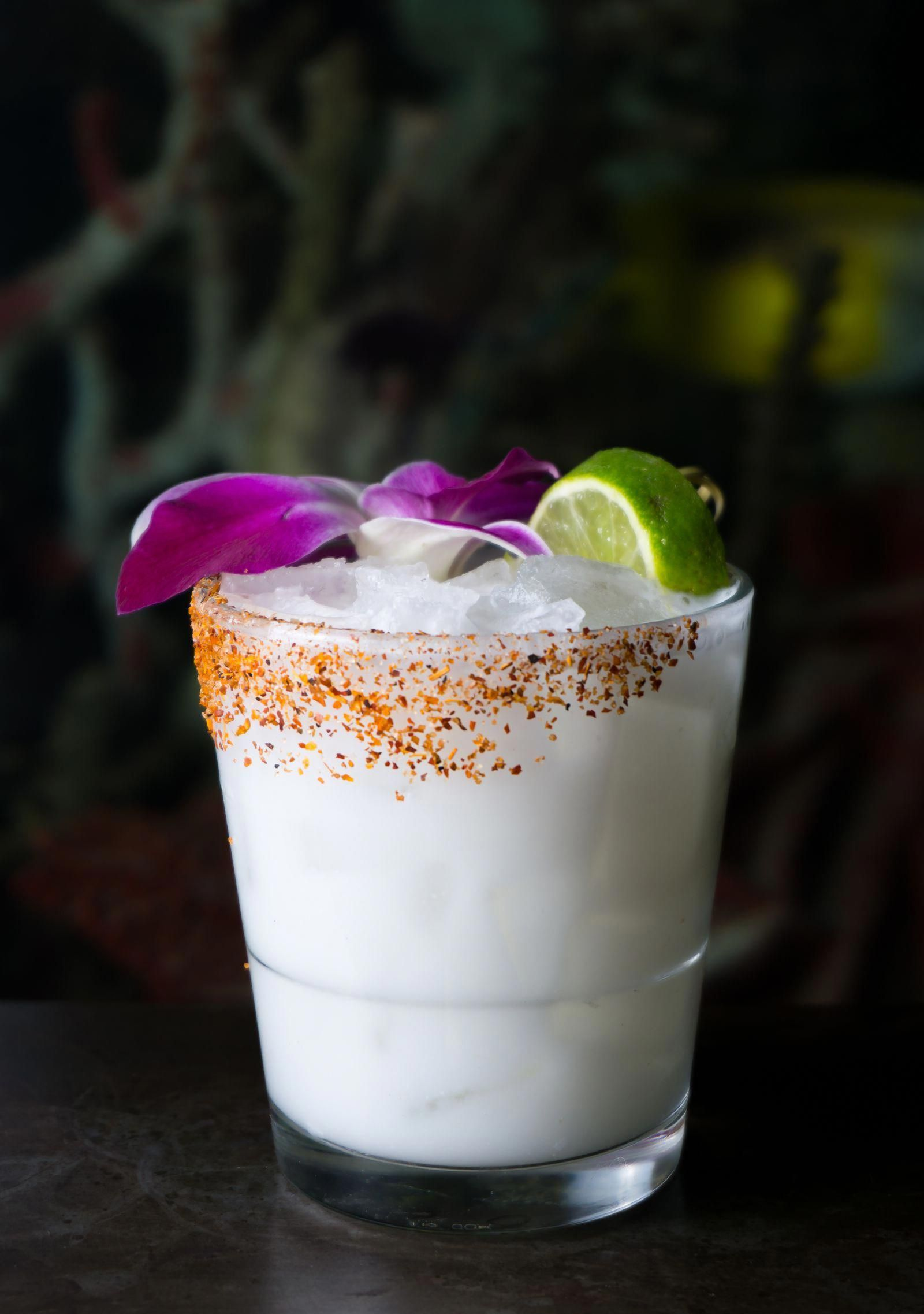 The Marble Queen - 1.5 oz Milagro Tequila 1 oz Coco Lopez cream of ...