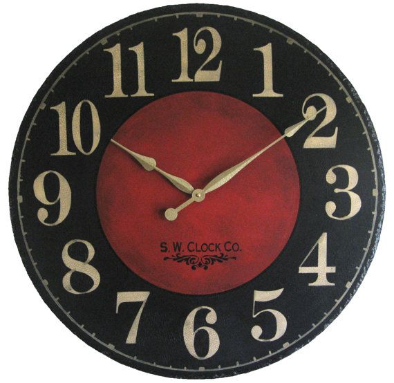 In Seven Sizes To Personalize The Clock