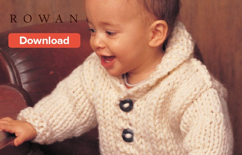 Free Rowan Baby Knitting Pattern | Knitting | Baby ...