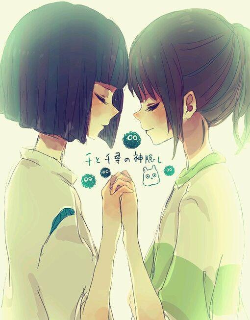 Bien connu Chihiro and Haku …   Pinteres… ZZ19