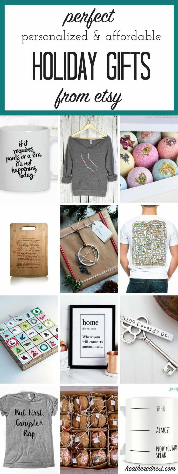 Etsy Holiday Gift Guide: For All The Adults On Your List | Bath bomb ...