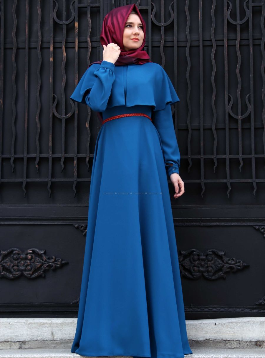 Model Gamis Cantik Gamis Modern Cape Dress Pinterest Models