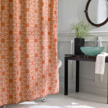 Excell Dartmouth Peva Shower Curtain Fabric Shower Curtains