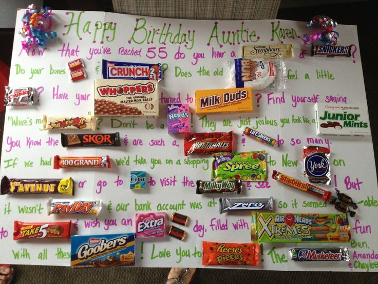 Birthday Cards Made with Candy Bars Birthday Cards Mary