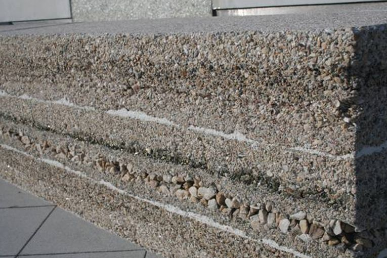 Award Winning Concrete Aggregate Wall Google Search Concrete Wall Concrete Decor Concrete Panel
