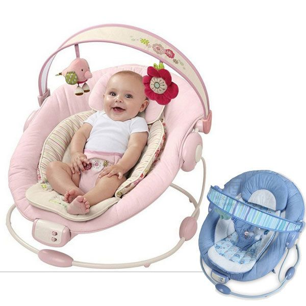 3b998a52628d Baby electric vibration rocking chair portable baby swings music ...