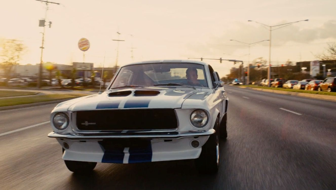 Ford Mustang 1967 Car Driven By Sylvester Stallone In Grudge