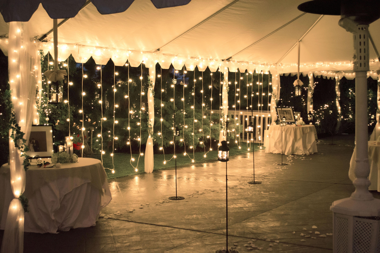 Healthy Advocated Elegant Wedding Decorations Watch Wedding Tent Lighting Backyard Wedding Wedding Lights