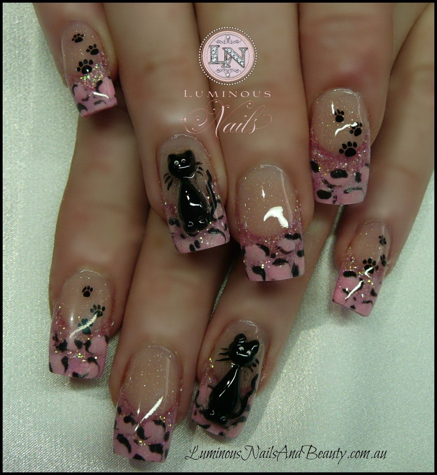 luminous nails a nailart fingern gel pinterest n gel fingern gel und geln gel. Black Bedroom Furniture Sets. Home Design Ideas