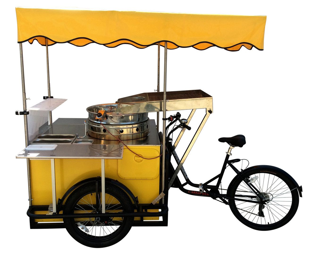 Street Food Carts On Bike Tricycles Catalog Trailer