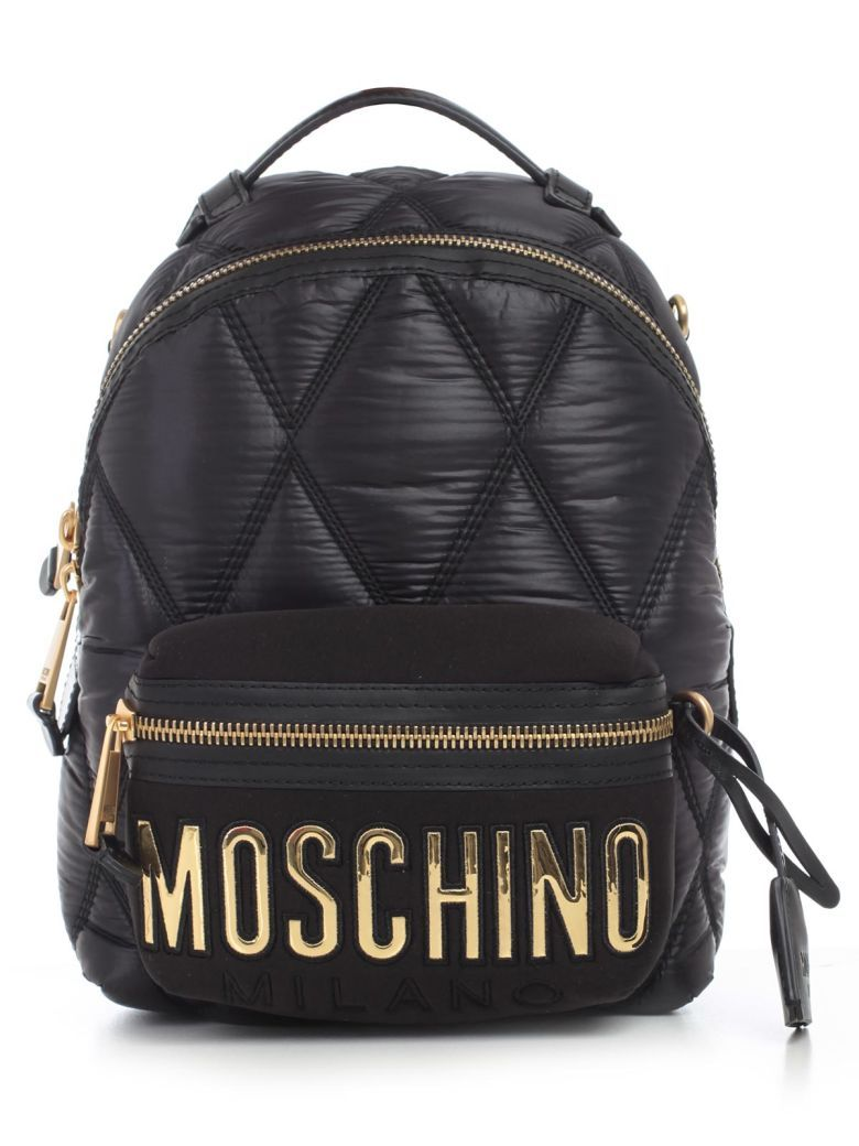 low priced good big sale Best price on the market at italist.com Moschino Black ...