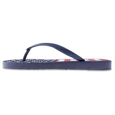 091ad89c4 Women s Capelli American Flag Flip Flop Sandals - Navy 10