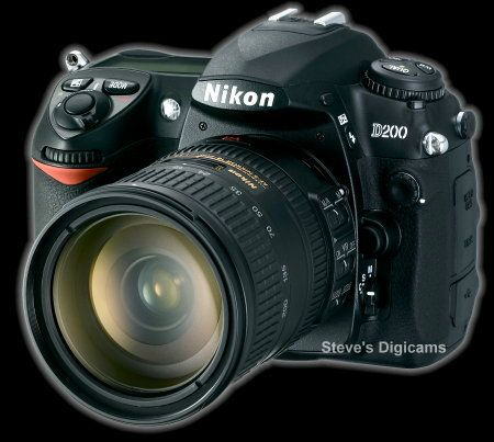 Click to take a QuickTime tour of the Nikon D200 SLR