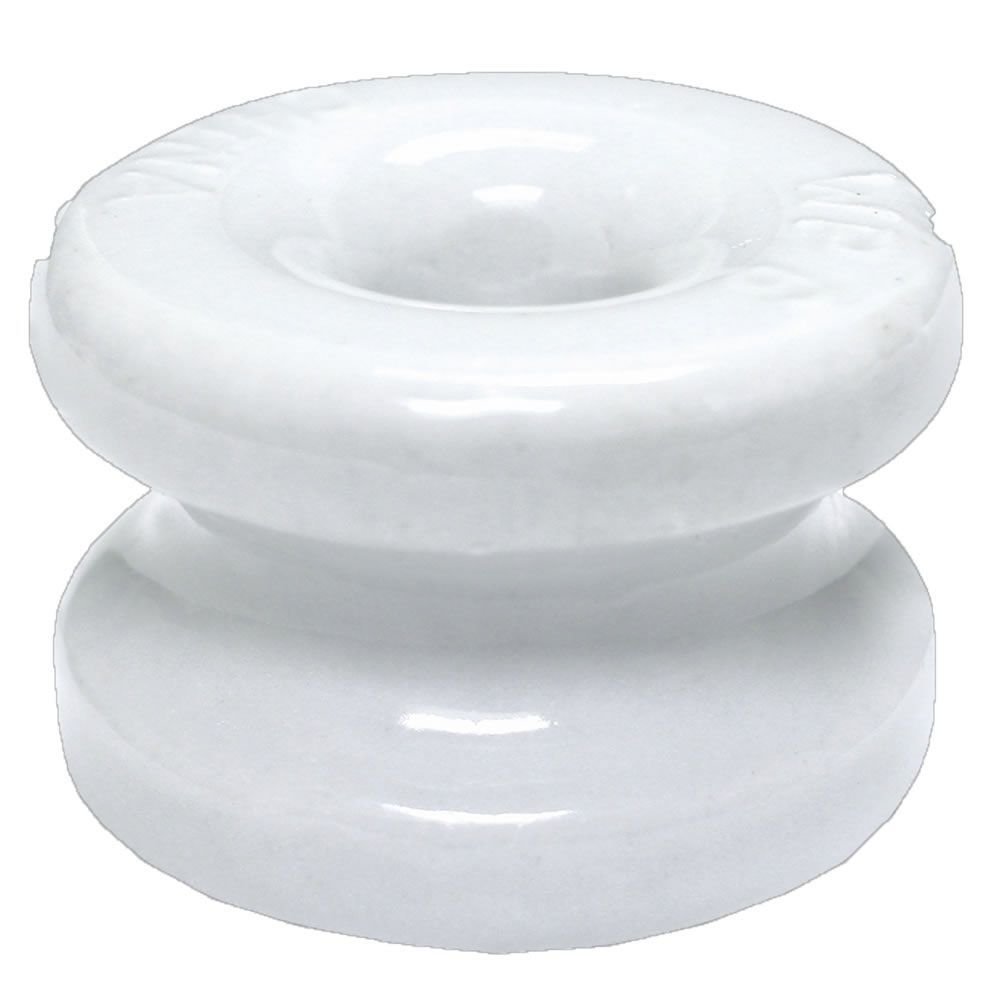 p>These porcelain corner post insulators have a 1-5/8 inch diameter ...