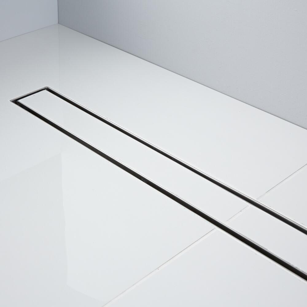 milano 800mm tile insert linear