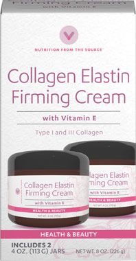 Collagen Elastin Firming Cream With Vitamin E At Vitamin World Firming Cream Elastin Collagen