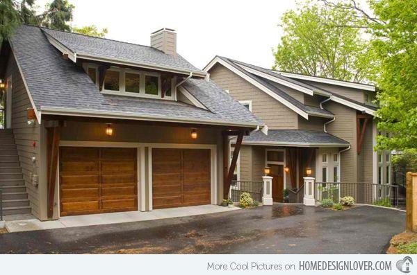 15 Detached Modern And Contemporary Garage Design Inspiration Home Design Lover Modern Garage Doors Garage Exterior Garage Design