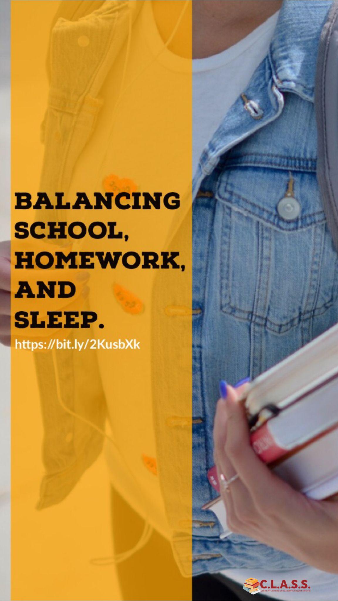 Teen life balance