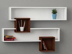 Modern Wall Shelving Storage Unit Luxury Bookshelf