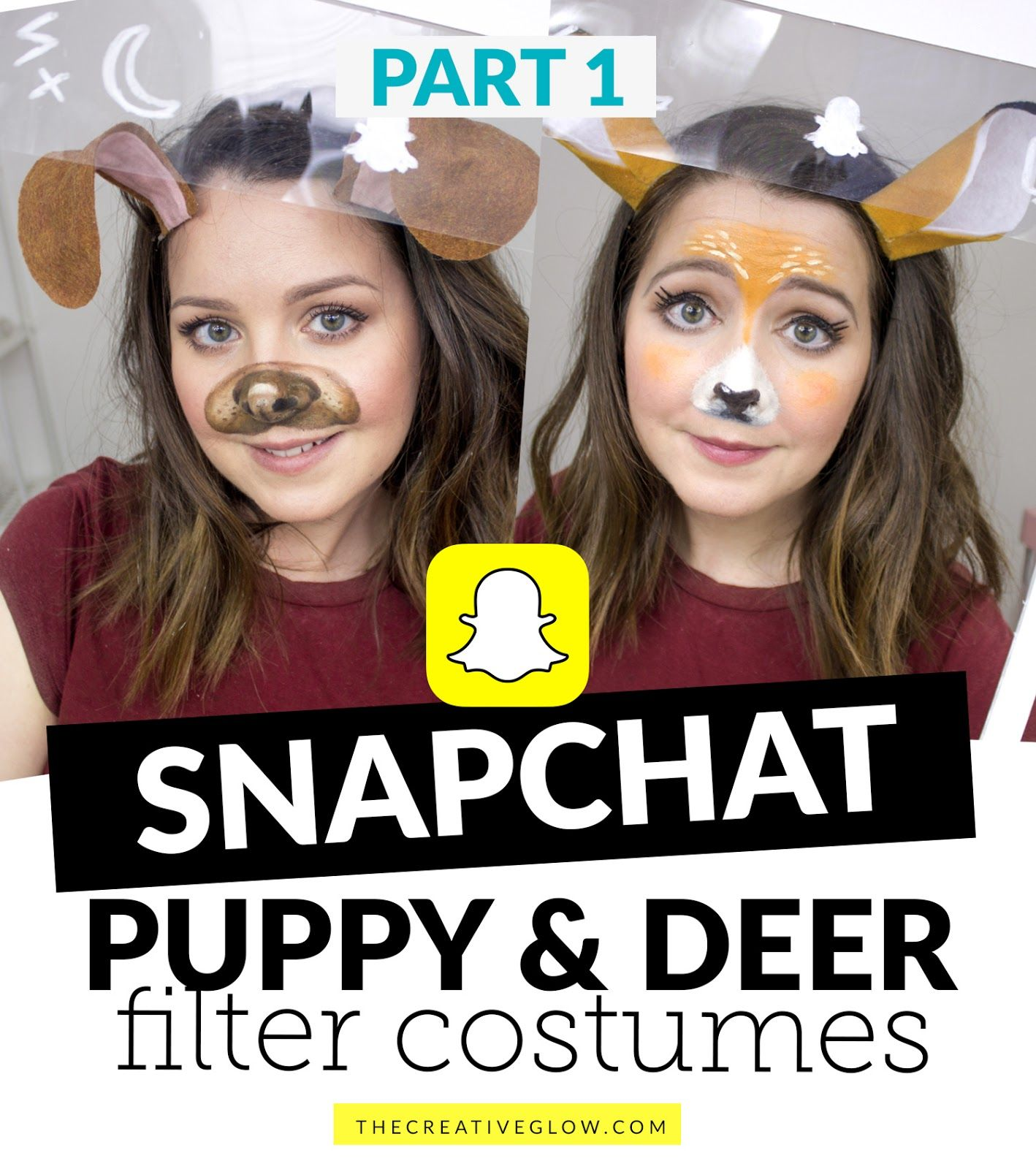 SnapChat Puppy & Deer Filter Costumes in 2020