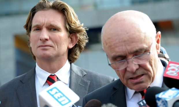 "The full Australian Federal Court heard that the Australian Football League (AFL) would have been regarded as a ""patsy"" if it had not assumed a critical role in the Essendon supplements investigation."