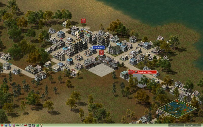Industry Giant 2 simulation retro game - Abandonware Windows