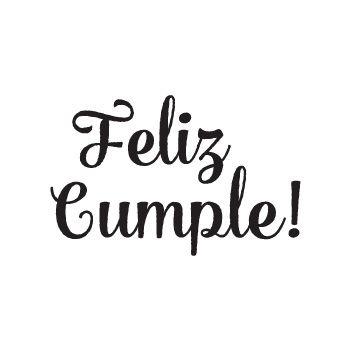 Feliz Cumple Frases Pinterest Feliz cumpleaños letra, Feliz