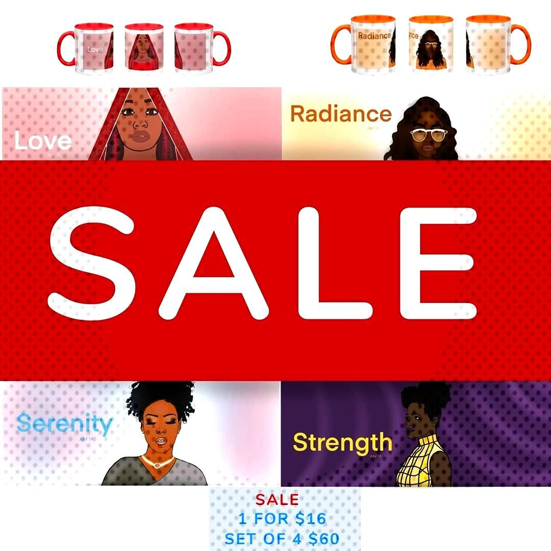 Coffee Mugs on sale The Empowerment Collection. Sale ends on 1/7/20 at 10pm ET. Purchase with the