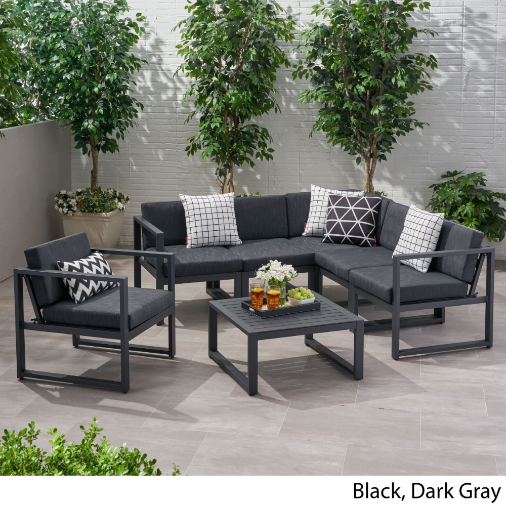 Overstock Com Online Shopping Bedding Furniture Electronics Jewelry Clothing More Black Outdoor Furniture Sofa Set Outdoor Sectional Sofa