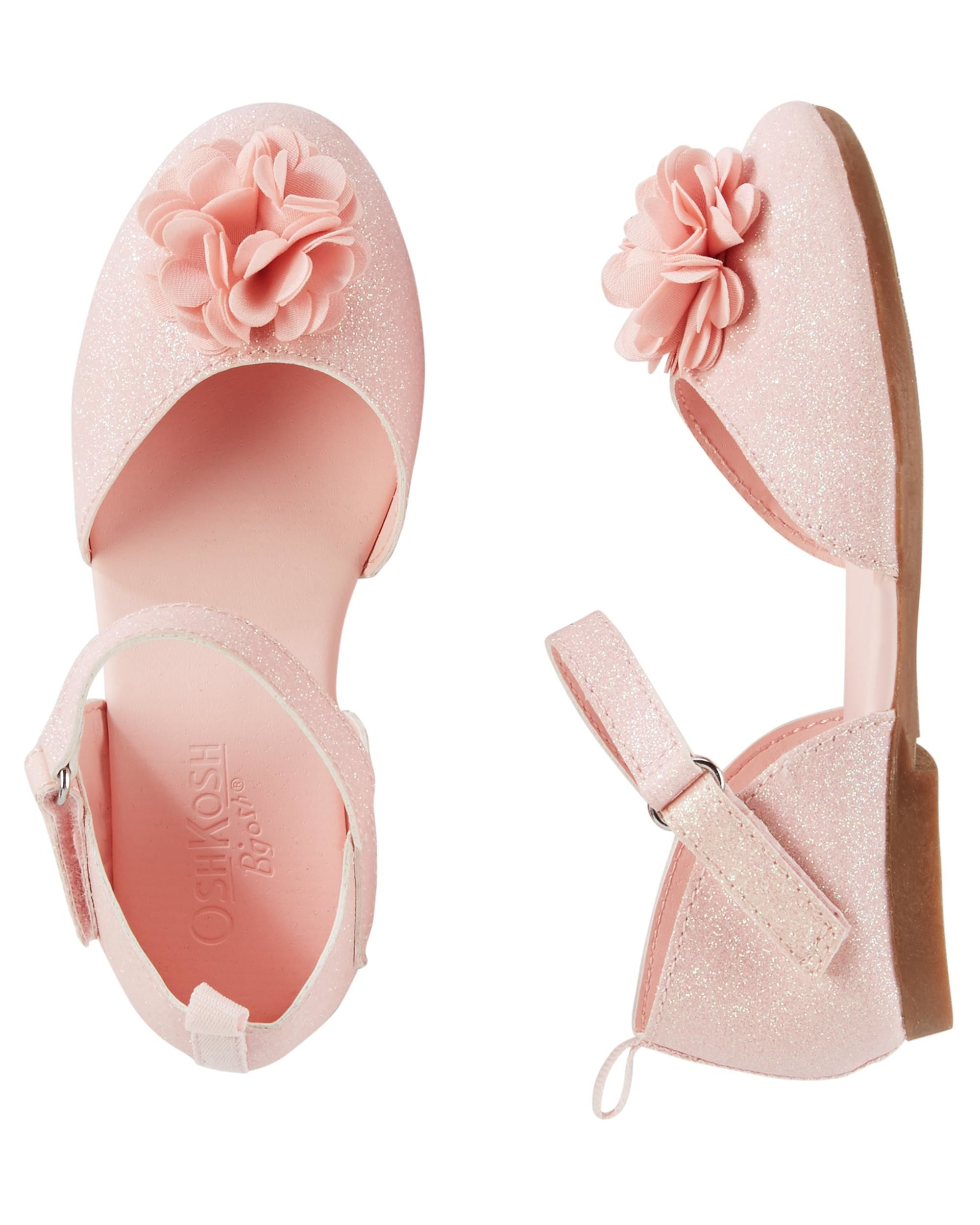 OshKosh Flower Sandals | Carters baby girl, Baby girl shoes and ...