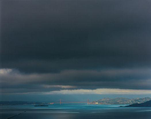 Richard Misrach - 4 9 00 7:49am from the series Golden Gate