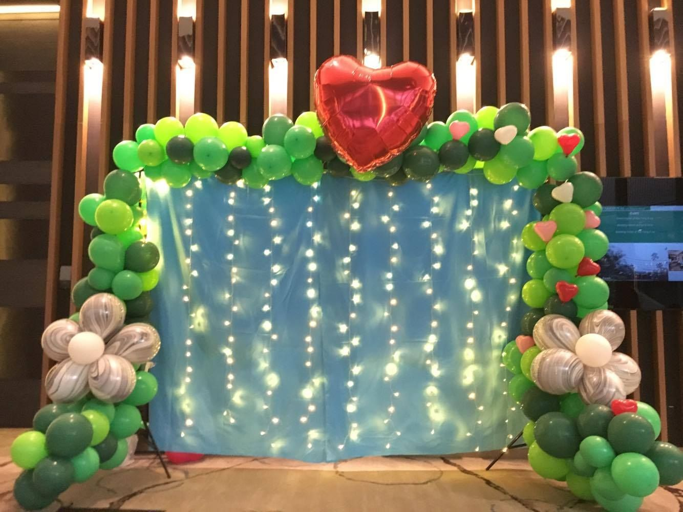Pin by pixel party SG on Balloon decoration service