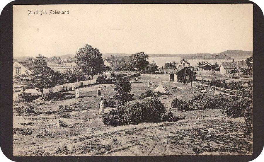 Vestfold Føienland. Mathisen 4840. St Jersø -12. Kv 1-2