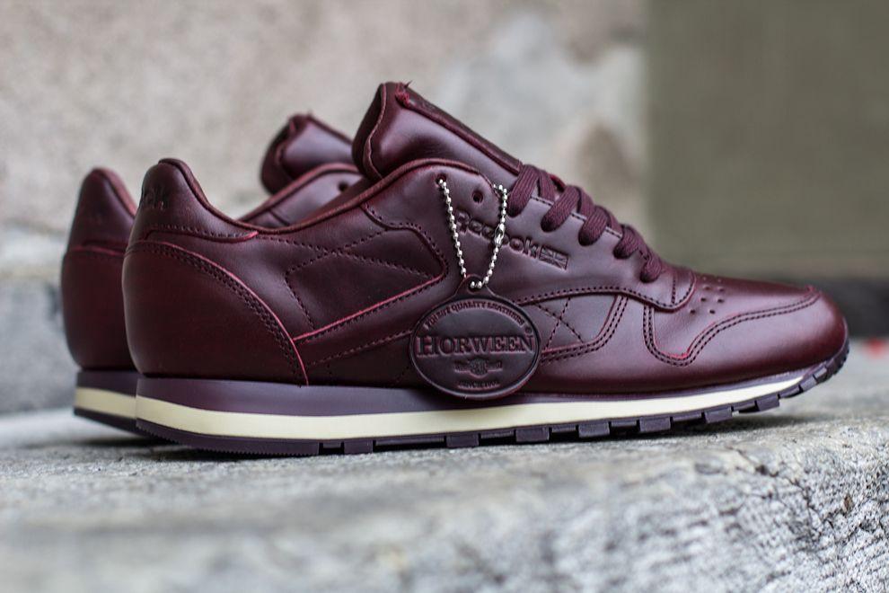 88da051589124 Reebok Classic Leather LUX 'Henna' (Horween