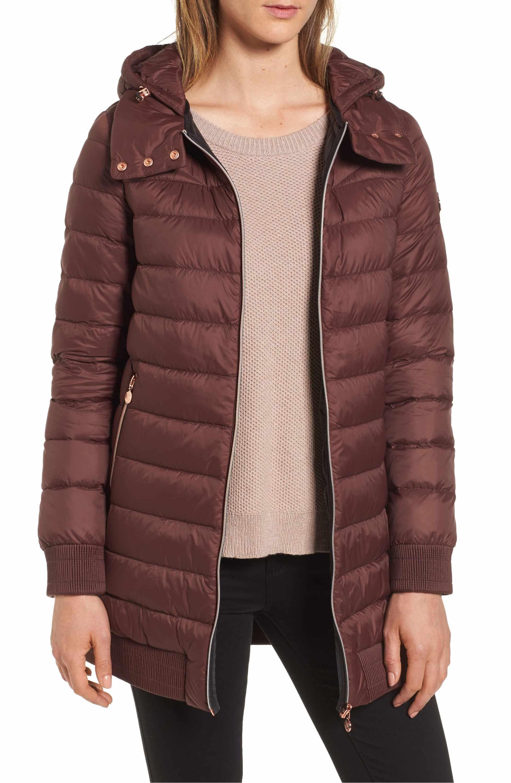 e8e6fa0970d Main Image - Bernardo Hooded Packable Down & PrimaLoft® Coat | Like ...