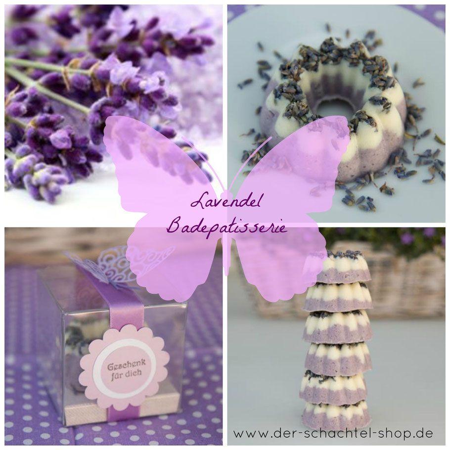DIY Lavendel Badepatisserie - Geschenkschachteln - Der Schachtel Shop