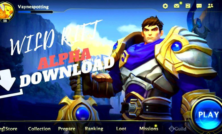 Lol Wild Rift Alpha Download For Android Apk In 2020 Intense Games Rift Game Resources